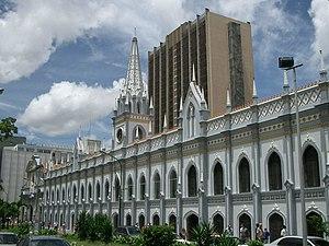 Español: Palacio de las Academias, Caracas, Ve...