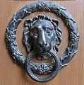 Palais Starhemberg–Lion door knocker.jpg