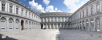 Egmont Palace - The cour d'honneur