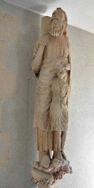 Palace of Tau - Image: Palais du Tau Statues originales 17062011 09