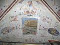 Palazzo al canto di sant'anna, androne su via feisolana, affreschi 02.JPG