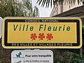 Panneau Ville Fleurie Rue Pierrelais - Châtillon (FR92) - 2021-01-03 - 1.jpg