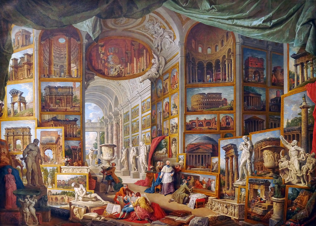 Pannini, Giovanni Paolo - Gallery of Views of Ancient Rome