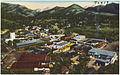 Panorama of the village of Estes Park, gateway to Rocky Mountain National Park, Colorado. (7725169460).jpg