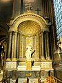Paris (75), abbaye Saint-Germain-des-Prés, chapelle Ste-Marguerite, autel 1.jpg