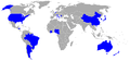 Participating countries in men's football at the 2008 Olympics.PNG