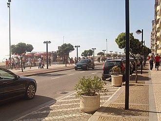 Avenida dos Banhos - Avenida dos Banhos in a sunny spring day.