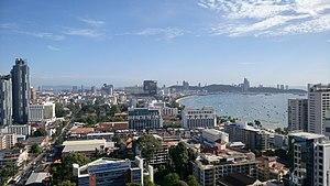Pattaya in daytime June 2017