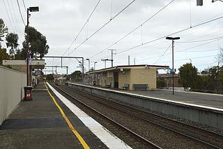 Patterson railway station