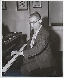 Paul Wittgenstein playing the piano