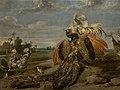 Paul de Vos (1595-1678) - Vechtende pauw en haan - Lissabon Museu Calouste Gulbenkian 21-10-2010 13-23-48.jpg