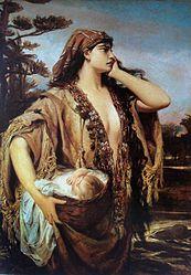 Pedro Américo: Moisés e Jocabed