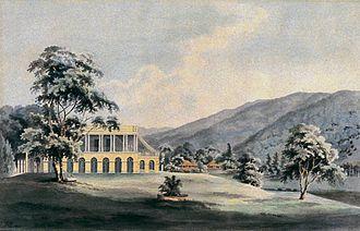 Suffolk House, Penang - Suffolk House in 1811