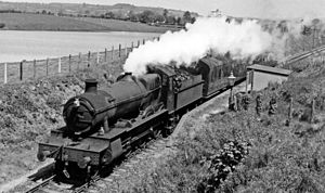 Pencarreg - In 1930 the Great Western Railway opened a halt which closed in 1965