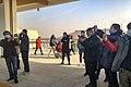 People welcoming high-speed train at Bazhoubei Railway Station (20201227135326).jpg