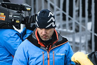 Per Elofsson - Elofsson as a pundit for SVT Sport in Oslo 2011