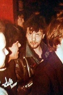 Wylie in the audience at Brady's Club, Liverpool, early 1980s