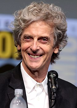 Peter Capaldi San Diegon Comic-Conissa 2017.