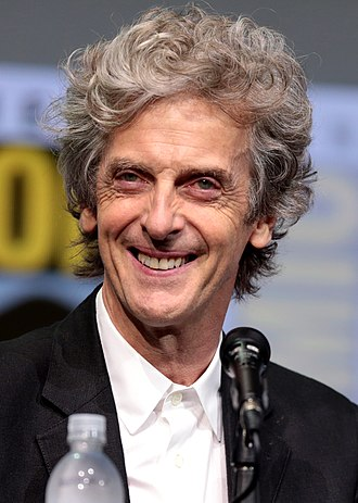 Peter Capaldi - Capaldi at the 2017 San Diego Comic-Con