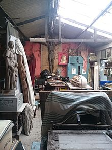 Peter Grant's Studio before final clearance and archiving in 2016.jpg
