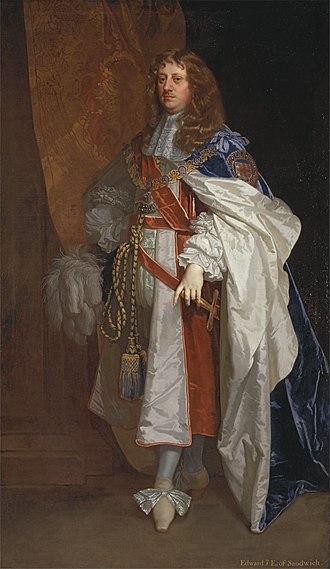 Peter Lely - Peter Lely - Edward Montagu, 1st Earl of Sandwich