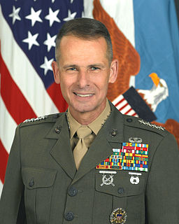 Peter Pace US Marine Corps general