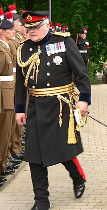 A British Army General Wearing Frock Coat In 2012