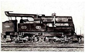 Duplex locomotive - 0-6-6-0T duplex locomotive built by Jules Petiet in 1863