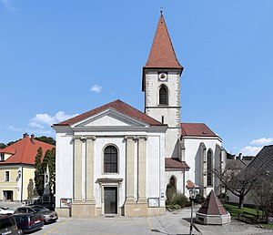 Pottenstein, Austria - Parish church Maria Trost im Elend
