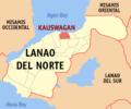 Ph locator lanao del norte kauswagan.png
