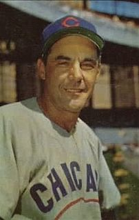 Phil Cavarretta American baseball player and manager