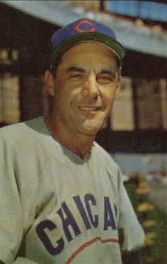 Phil Cavarretta - Cavarretta in about 1953.