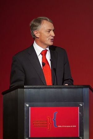 Phil Goff - Goff at the Progressive Governance Conference 2009, at Viña del Mar, Chile