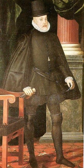 Cultural depictions of Philip II of Spain - Image: Philip I Iof Spain Pantoja
