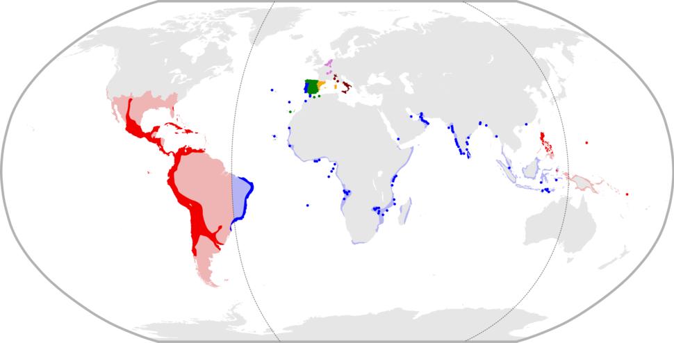 Philip II%27s realms in 1598