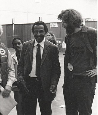 John Conyers - Conyers at the All People's Congress, Detroit, 1981
