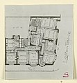 Photograph, Photograph of a Floor Plan of an Apartment Building Designed by Hector Guimard (No. 8), 1911 (CH 18387433-2).jpg