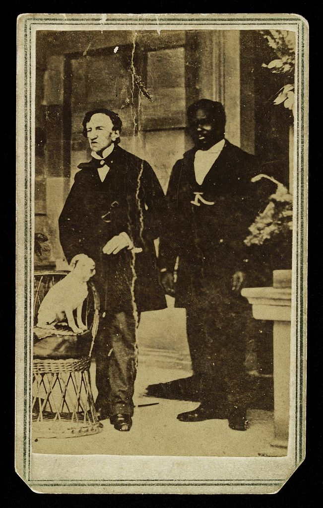 File Photograph Dr James Barry With Negro Servant And