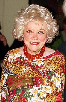 Phyllis Diller at home, February 25, 2007.
