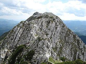 Piatra Craiului Mountains - Piatra Craiului main ridge