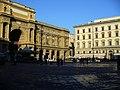 Piazza della Repubblica in Florence view.JPG