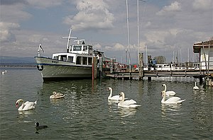 Murten - Morat harbor