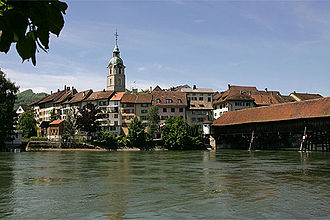 Olten - Old town with covered bridge