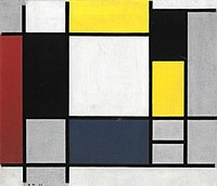 Piet Mondriaan - Composition with yellow, red, black, blue and gray - A 9864 - Stedelijk Museum Amsterdam.jpg