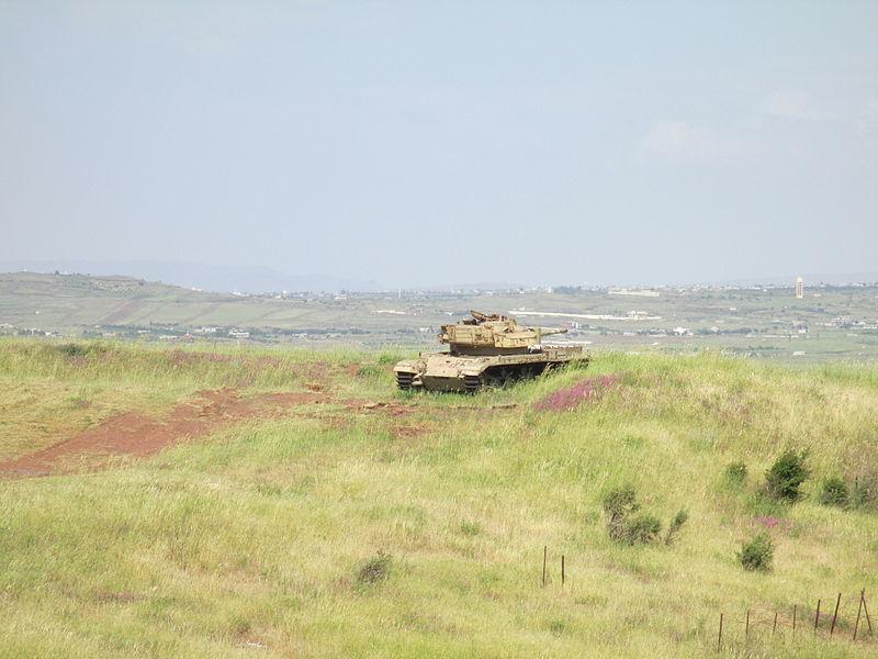 من سفر حرب اكتوبر 1973 ......معركة وادي الدموع .....باجزاء  800px-PikiWiki_Israel_31900_Valley_of_Tears_war_memorial_in_Golan_Heights