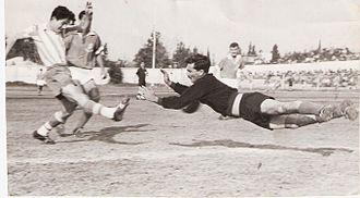 Nahum Stelmach - Stellmach (on left); 1959