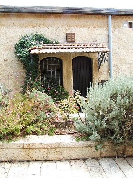 חלון וכניסה, ימין משה, ירושלים