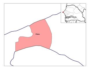 FilePikine Arrondissementpng Wikimedia Commons - Pikine map
