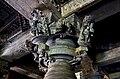Pillar bracket relief at Hoysaleshwara temple in Halebidu.jpg