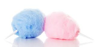 Cotton candy - Pink and blue cotton candy